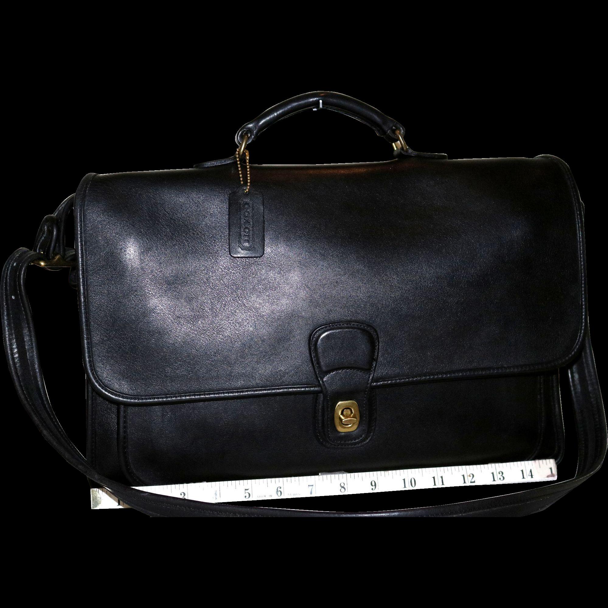 Vintage Coach Metropolitan Briefcase U.S. Model