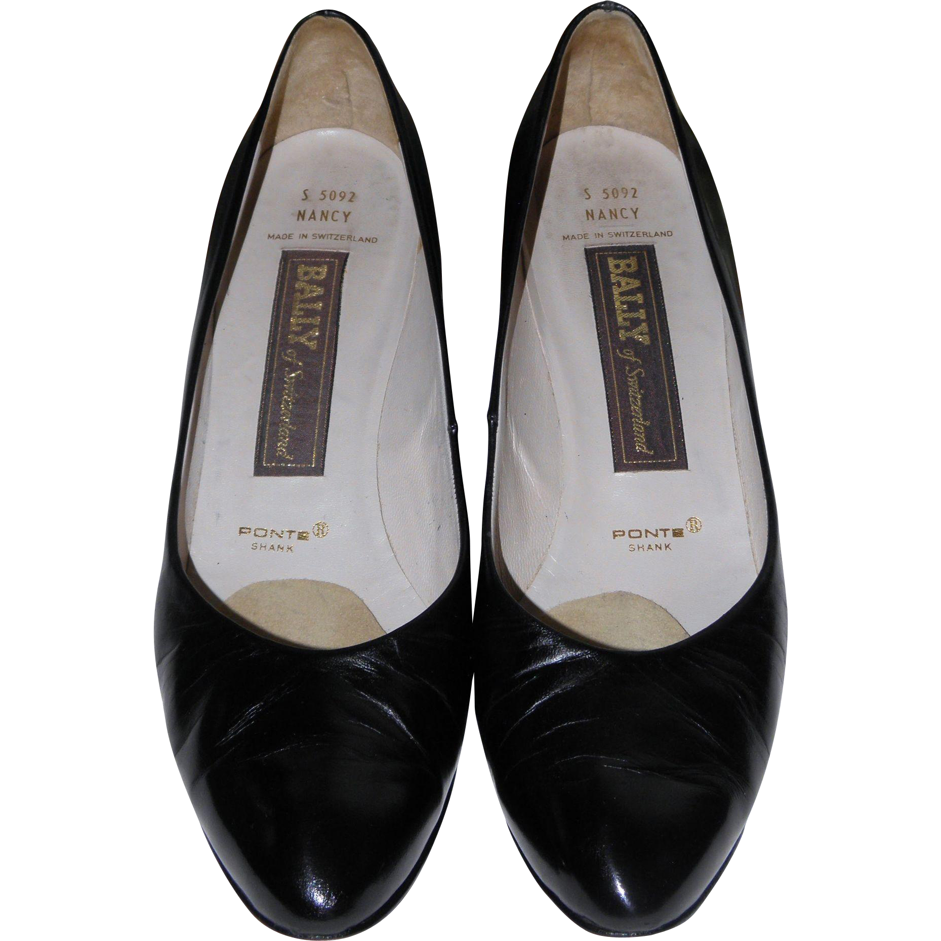 Bally of Switzerland Leather Pumps SZ 9N Eur 40