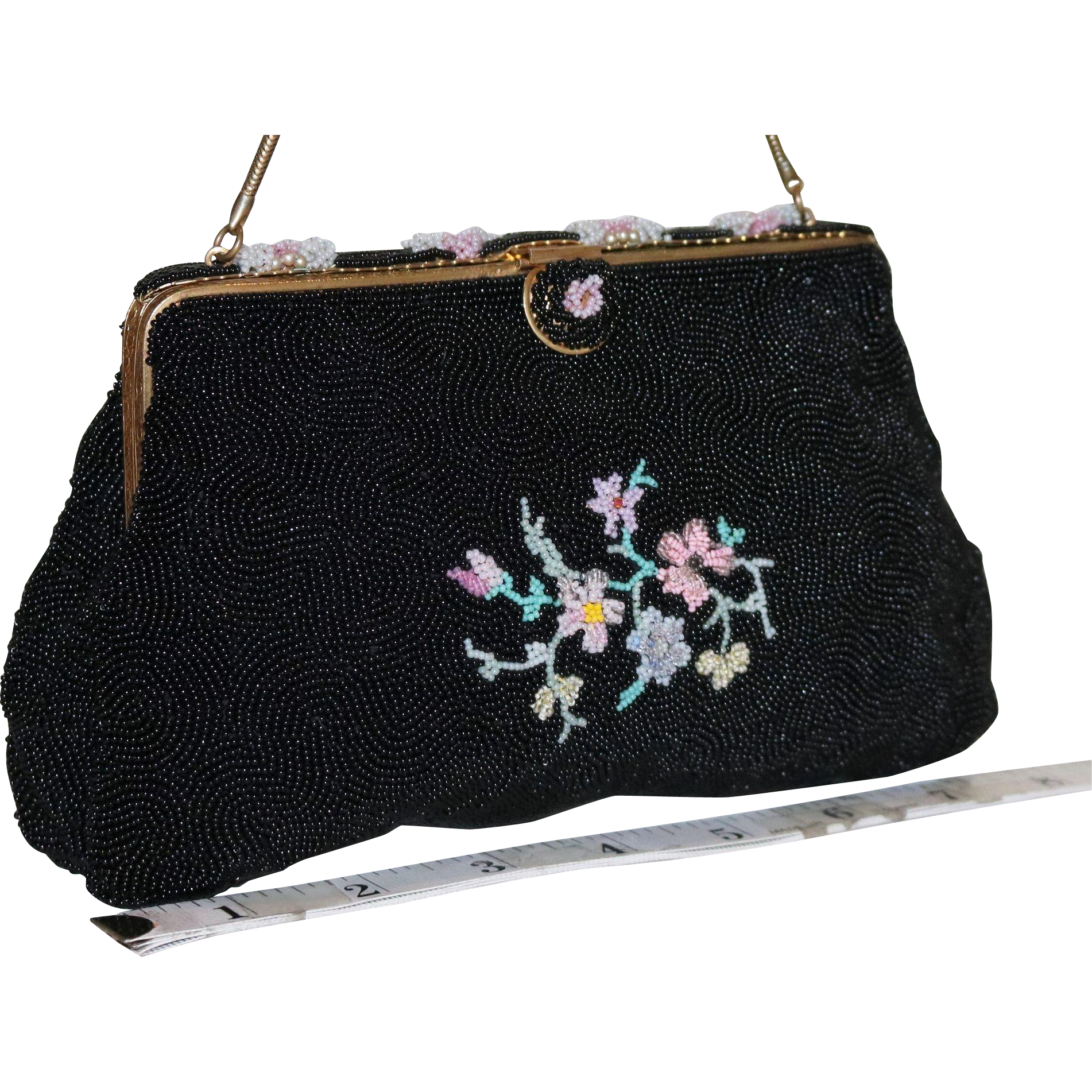 1930's Beaded Evening Bag from France