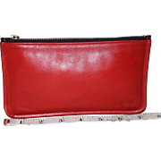 Vintage Coach Clutch Zip-top Wallet