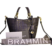 Brahmin  Melbourne Croco Small Sweetheart Tote