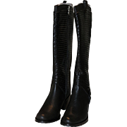 Azura Italian Fashion Boots Sz 38 US 7 1/2