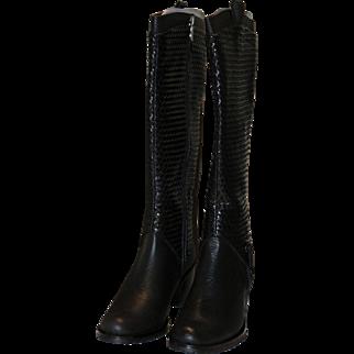 Azura Italian Fashion Boots Sz 38 US 7 1/2
