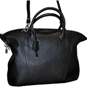 The Varsavia Lock Tote by Alberta Di Canio from Italy