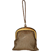 1930's Whiting & Davis Mesh Flapper Dance Bag