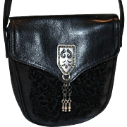 Vintage Doppia Vita Hipster Bag from Italy  20% OFF
