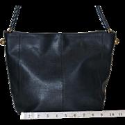 Vintage Bottega Veneta Textured Leather Tote from Italy