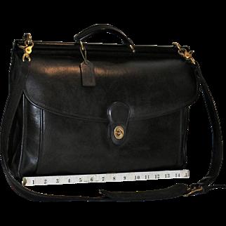Vintage Coach Beekman Briefcase U.S. Model
