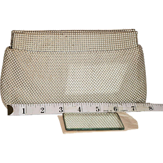 Whiting & Davis Hinged Evening Clutch