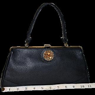 1950's Margolin Pebbled Evening Bag