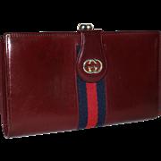 Vintage Gucci Kiss-Snap Clutch Wallet