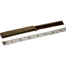 Vintage Whiting & Davis Gold Mesh Folding Comb