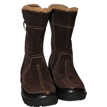 Clarks Soft Cushion Mid Calf Comfort Boots