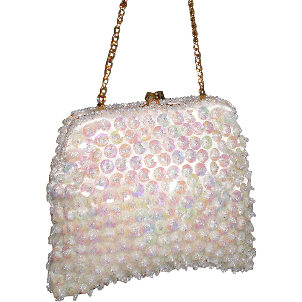 1950's Mister Ernst Sequined Beaded Clutch