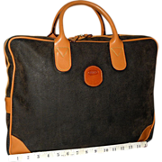 vintage Bric's  Nuovo Slim Attaché
