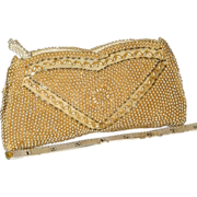 1950's La Regale Beaded Evening Clutch