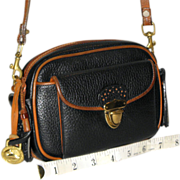 "Vintage Dooney & Bourke ""Small Kilty"" R-44 Bag US Original REDUCED"
