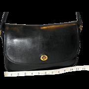 Vintage Coach City Bag U.S. Model in Black