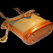 Vintage Dooney & Bourke Cavalry Small Spectator Bag