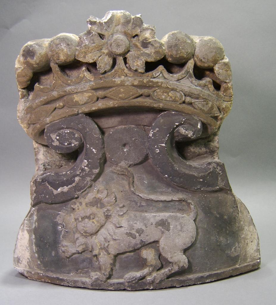 17th c. Stone Fragment Presented to Ambassador William Bullitt