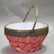 Overshot Glass Basket