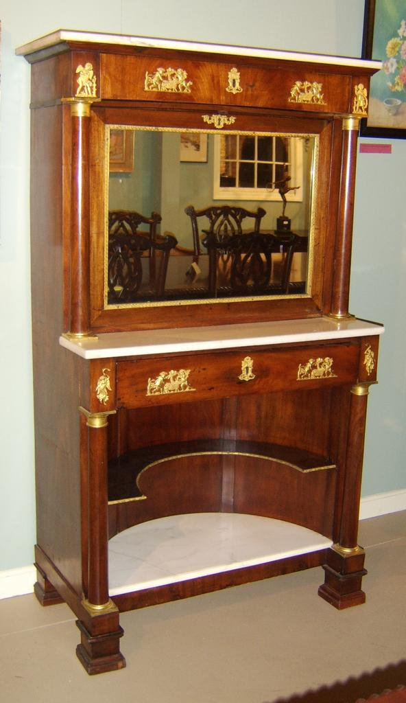 19th c. Secretaire Abbatant