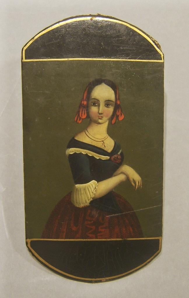 18th c. Folk Art Spectacle Holder