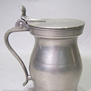 Scottish Pewter Measure by Wm. Scott dated 1826