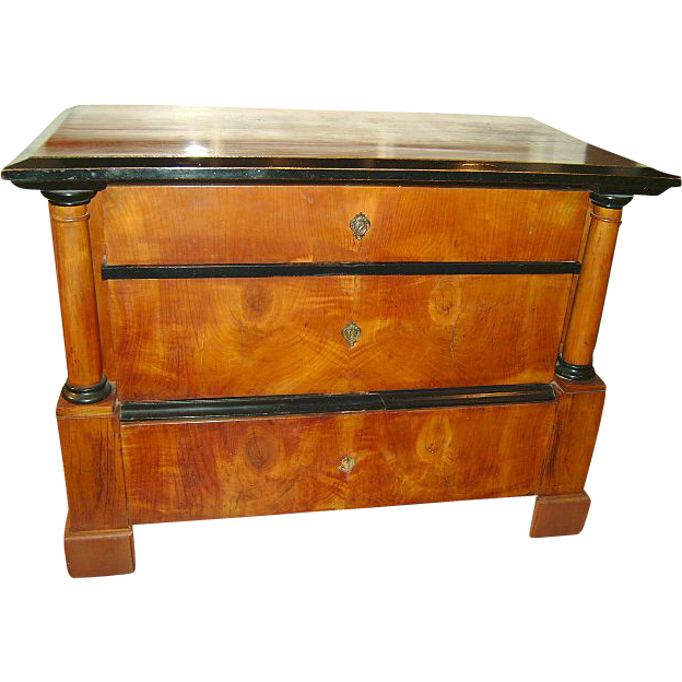 19th c. Biedermeier Chest of Drawers
