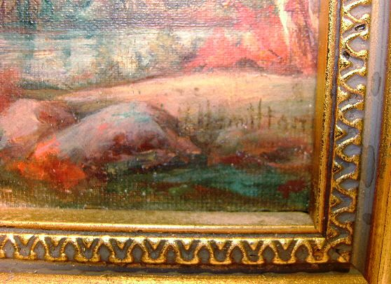 Hamilton Hamilton Oil Painting Mt Chocorua Nh Landscape
