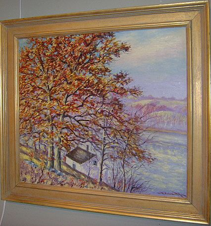 Hugo Melville Fisher Oil Painting Autumn Landscape