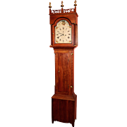 19th c. J.C. Cole Tall Case Clock, New Hampshire