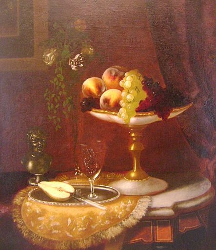 Morston Constantine Ream Oil Painting Still Life of Fruit