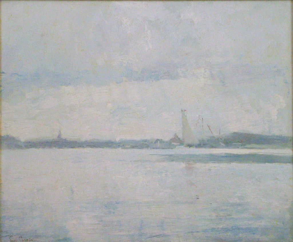 Emil Carlsen Oil Painting of a Summer Day at Sea