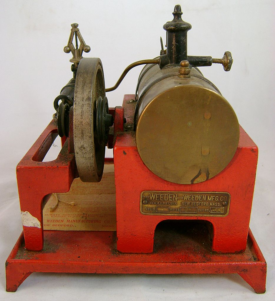 Weeden Electrically Heated Toy Steam Engine No. 648 ca. 1930