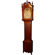 Pennsylvania Cherry Tall Case Clock circa 1815