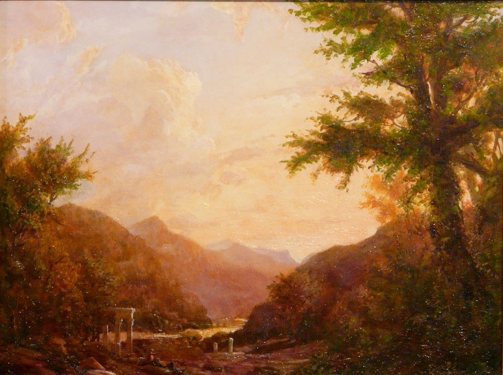 Erik Koeppel Oil Painting Land of the Romantic