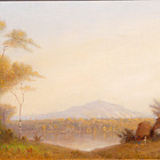 Dwight Williams Oil Painting Mexico View of Hidalgo