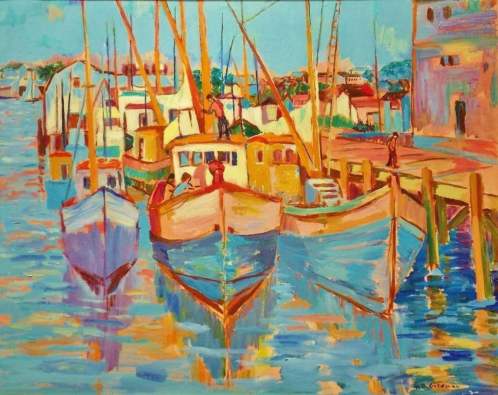 Geraldine Riley Douglas Goldman Oil Painting Provincetown MA