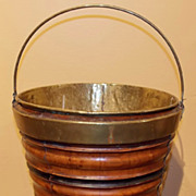 Late 18th/ Early 19th c. English Peat Bucket