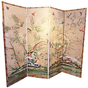18th Century Chinese Wallpaper Screen