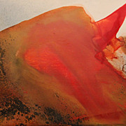 Paul Jenkins Oil Painting Abstract Phenomena Red Bluffs