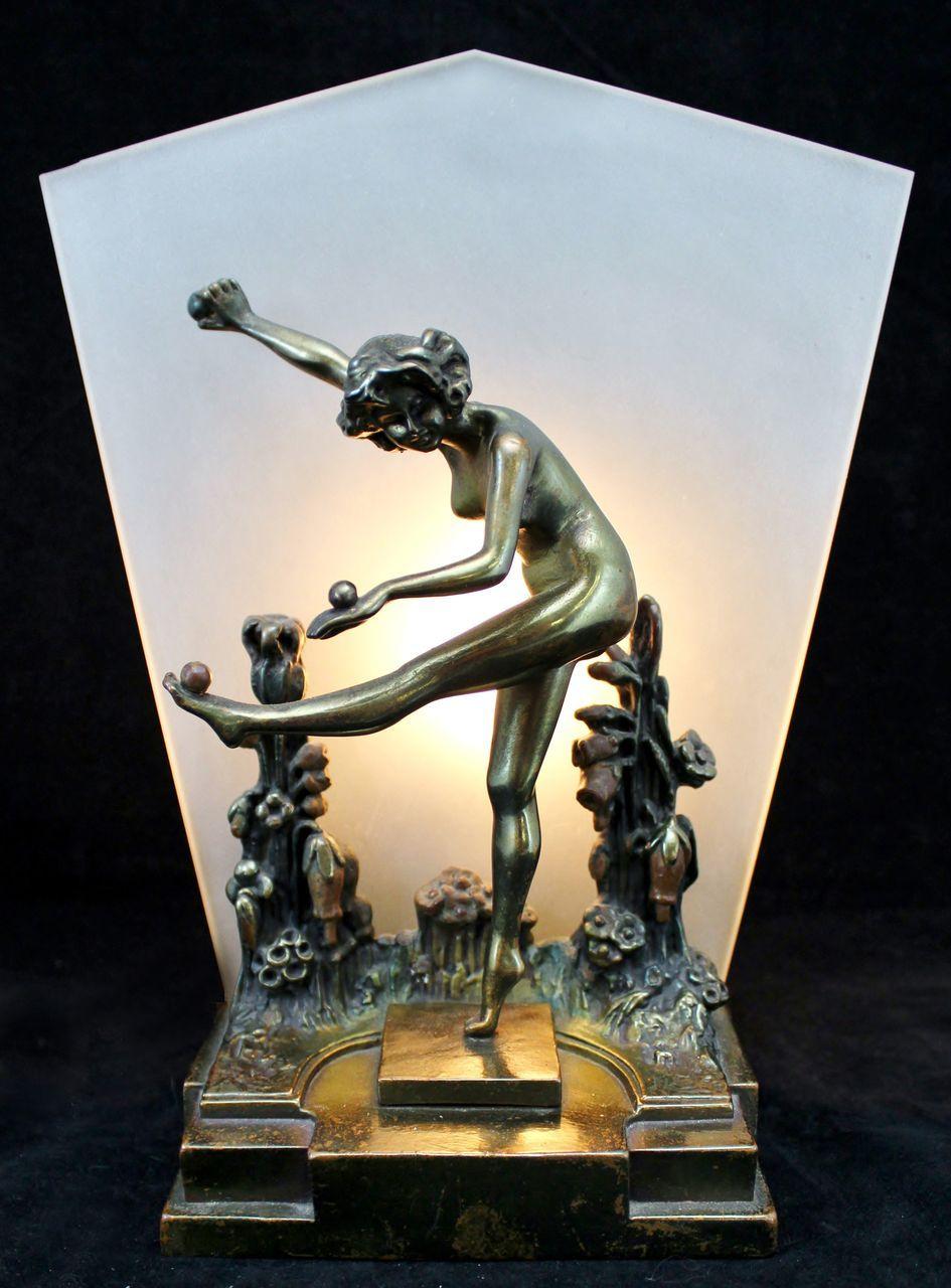 Louis Chalon French Art Nouveau Bronze Bust For Sale at