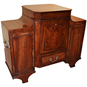 Late 18th /Early 19th c. Mahogany Cellarette or Wine Cooler