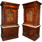 Pair of 19th century Italian Cabinets
