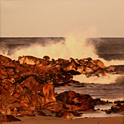 Erick Ingraham Oil Painting Seascape Seapoint Surf