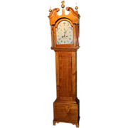 Timothy Chandler Tall Clock with Case bearing label of Asa Kimball, Concord NH