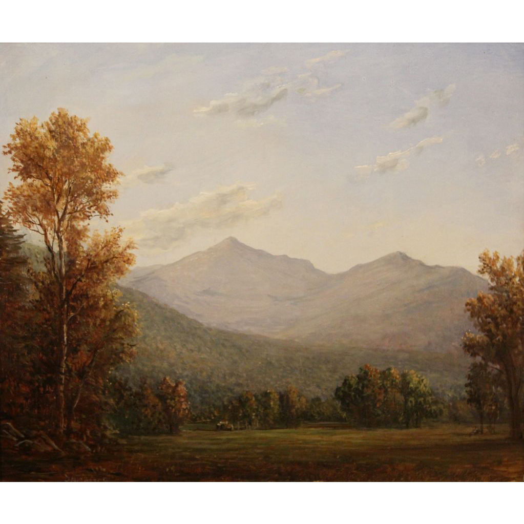 Lauren Sansaricq Oil Painting View of Mt. Adams NH