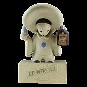 Cointreau Liqueur Pierrot Clown Advertising Store Display Figure 1930's