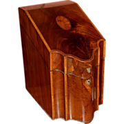 18th / 19th c Georgian English Knife Box